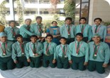 Winners of Ludhiana Sahodaya School Complex Cricket Tournament - U-19 Boys