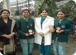 Winners of Poster making and Stamp Designing Competition