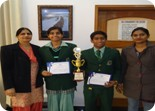 Rishi and Bhanu of XI FMM won 2nd Runners Up Trophy in LSSC Powerpoint Presentation Competition