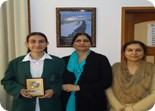 Kanika Chawla bagged first prize in LSSC English Declamation Competition