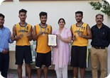 8.Silver Medal Winners of Punjab Schools State U-19 BasketBall Championship