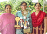 Bhanu Sachdeva Winner of Inter School Declamation Competition