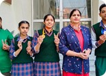 GREEN LAND SR.SEC. PUBLIC SCHOOL,  LUDHIANA KARATE- KAS BAG GOLD, SILVER & BRONZE MEDALS SELECTED FOR NATIONAL  KARATE TOURNAMENT