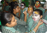 Inter House Face Painting Competition