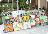 Inter House Poster Making Competition