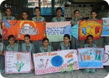 Inter House Poster Making Competition on  'India's  Culture and Heritage'
