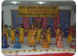 Little Kahna with Radha & other Gopis