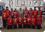 Medal Winners of Ludhiana Sahodaya Schools Complex Athletic Meet