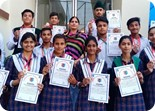 NCC CADETS BAGGED GOLD MEDALS IN  3  PB BATTALION NCC CAMP HELD AT MALOUT
