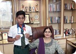 Prabansh bagged Gold & Silver Medals in the Mission Tandrust Punjab District Gymnastic Tournament