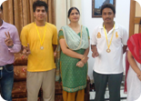Punjab Board Basket Ball  District Winners  U-19 boys