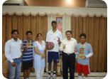 Winners of Punjab School District Basket Ball Tournament U-17 Boys