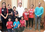 WINNEERS OF  GOLD IN U-19 & SILVER  IN U-17 AND U-14 IN LSSC BADMINTON CHAMPIONSHIP