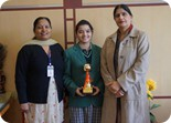 Winner of Ved Prachar Hindi Declamation Competition