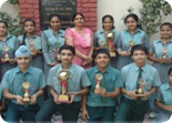 Winners of CBSE  XVI Table Tennis Cluster U -16 Girls, 1st   Runners  Up   Boys U-16  & 2nd Runners Up Girls U-14