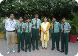 Winners of Punjab Schools U-19 Boys District Chess Tournament