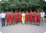 Winners of Punjab Schools U-19 Boys Zonal Basket Ball Tournament